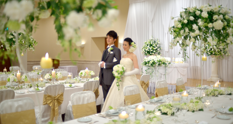 Simple japanese wedding
