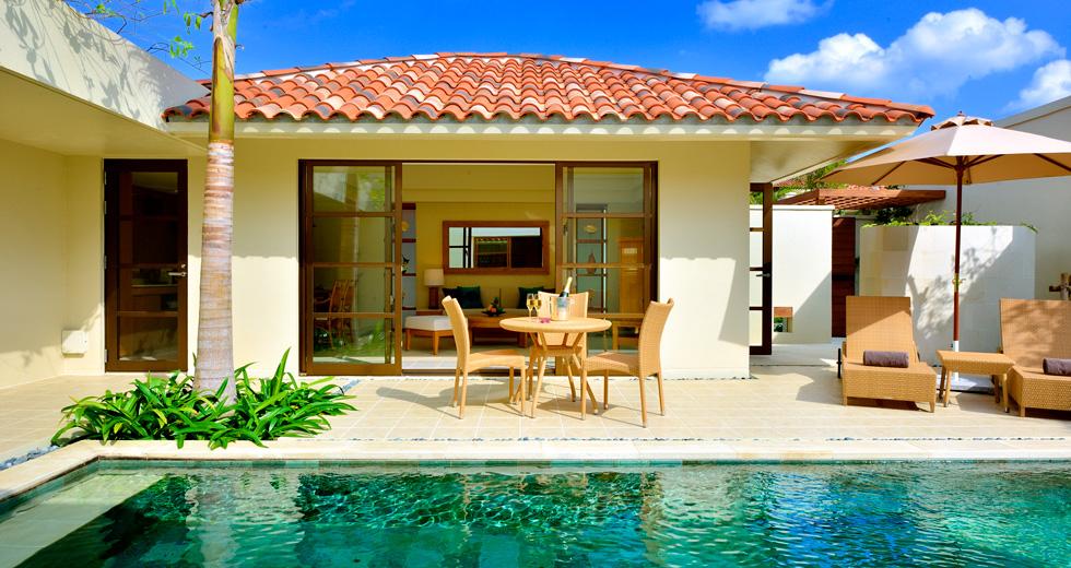 Pool Villa 1 Bedroom King Rooms The Uza Terrace Beach Club Villas