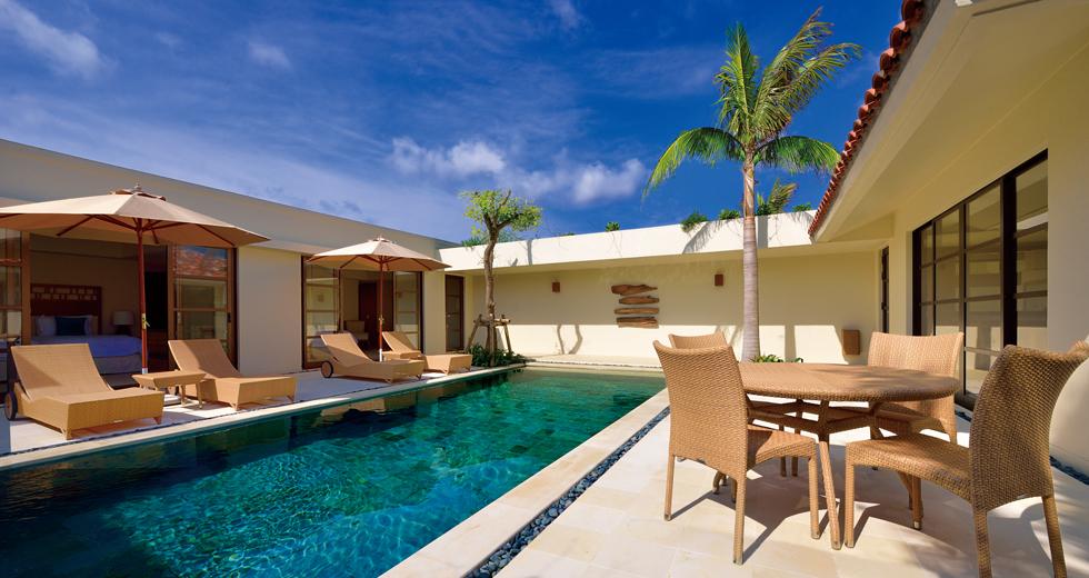 Pool Villa 2 Bedrooms Twin Rooms The Uza Terrace Beach