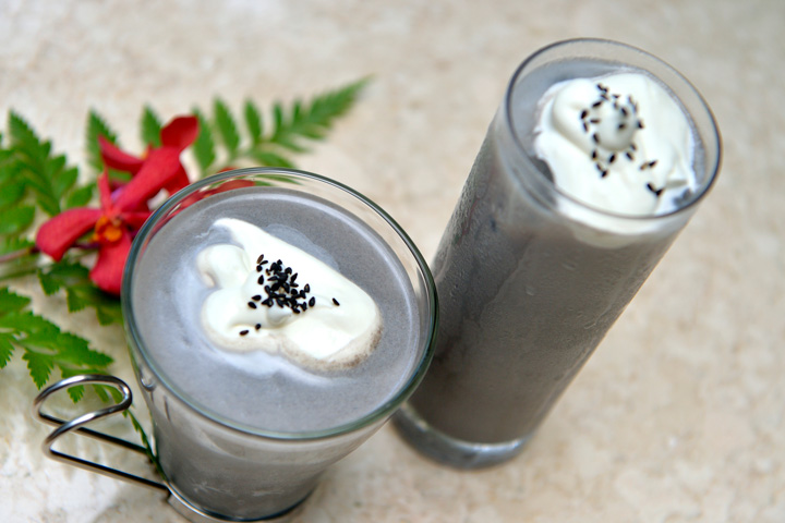 Black Sesame Drinks